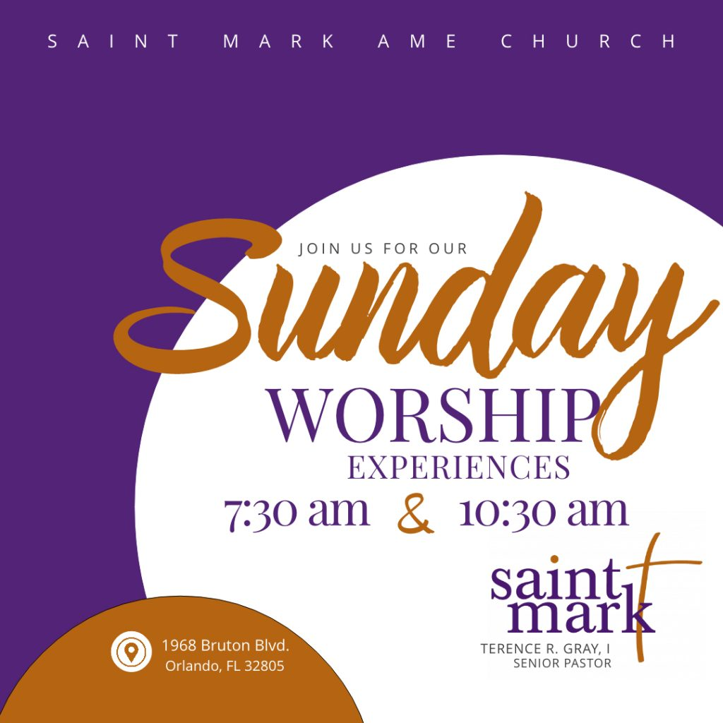 TRADITIONAL WORSHIP EXPERIENCE @ Saint Mark | Orlando | Florida | United States
