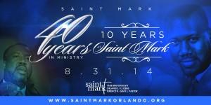 PASTOR APPRECIATION @ Saint Mark  | Orlando | Florida | United States