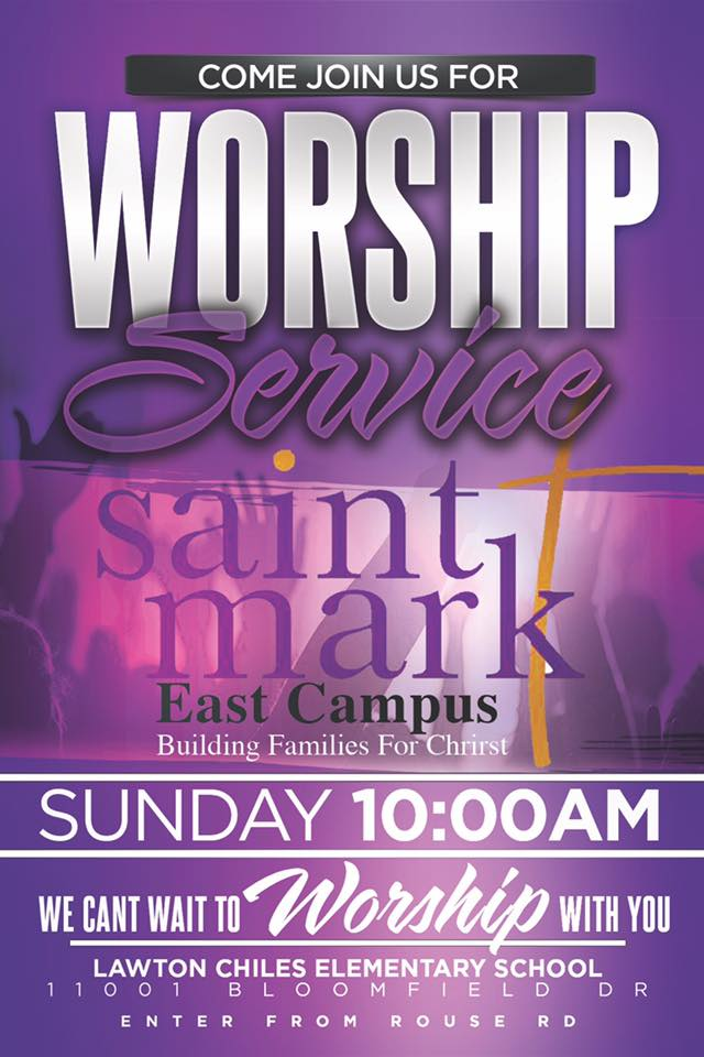 Worship Service - EAST Campus @ Saint Mark Orlando - EAST Campus | Orlando | Florida | United States
