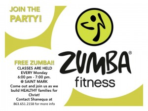 ZUMBA Fitness! @ Saint Mark Orlando - MAIN Campus | Orlando | Florida | United States