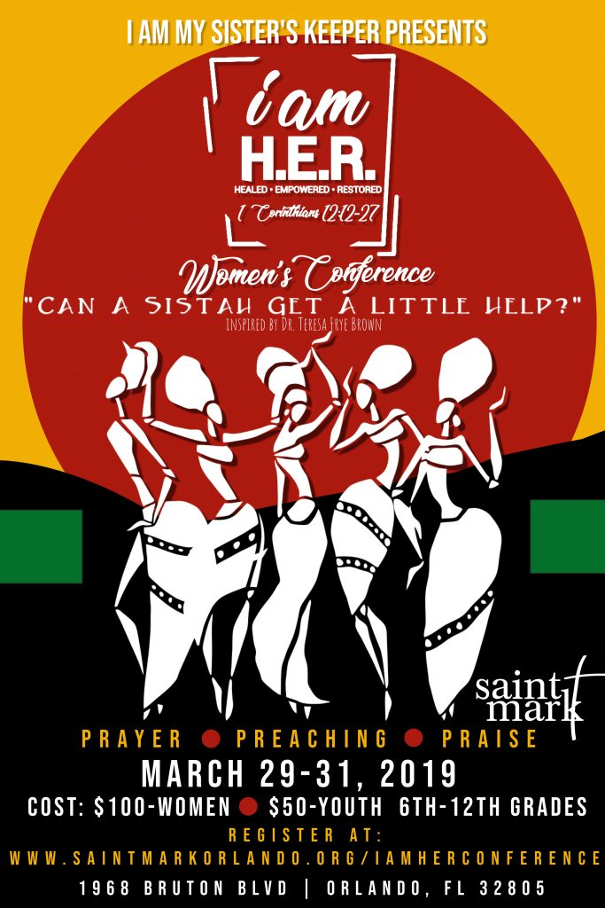 I AM H.E.R. Women's Conference @ Saint Mark | Orlando | Florida | United States