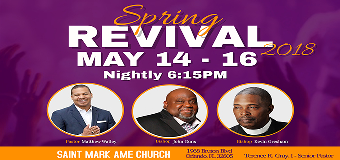 SPRING REVIVAL @ Saint Mark | Orlando | Florida | United States