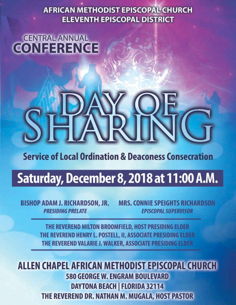 Day of Sharing @ Allen Chapel AME Church | Daytona Beach | Florida | United States