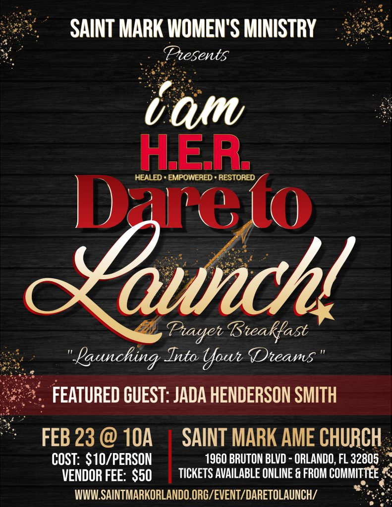 Dare To Launch! Prayer Breakfast @ Saint Mark AME Church