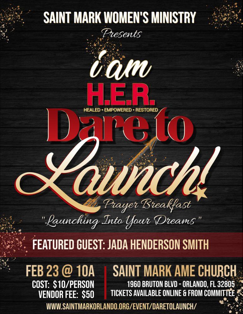 Dare To Launch! Prayer Breakfast @ Saint Mark AME Church